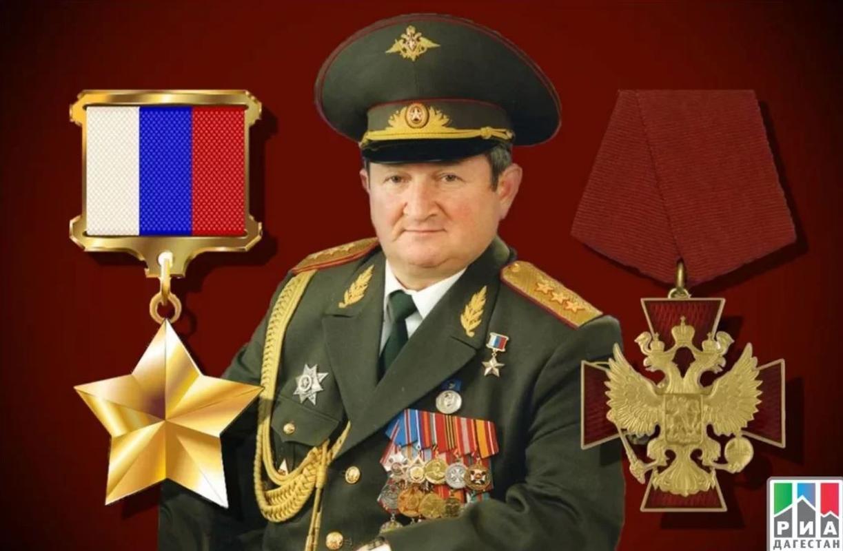 Генерал-полковник Тро́шев Генна́дий Никола́евич