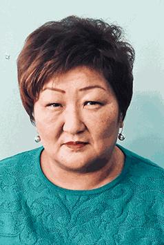 Хорёнова Эржена Дамбиевна