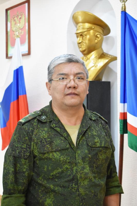 Исаков  Канатбек Джаманкулович Заместитель начальника по АХЧ
