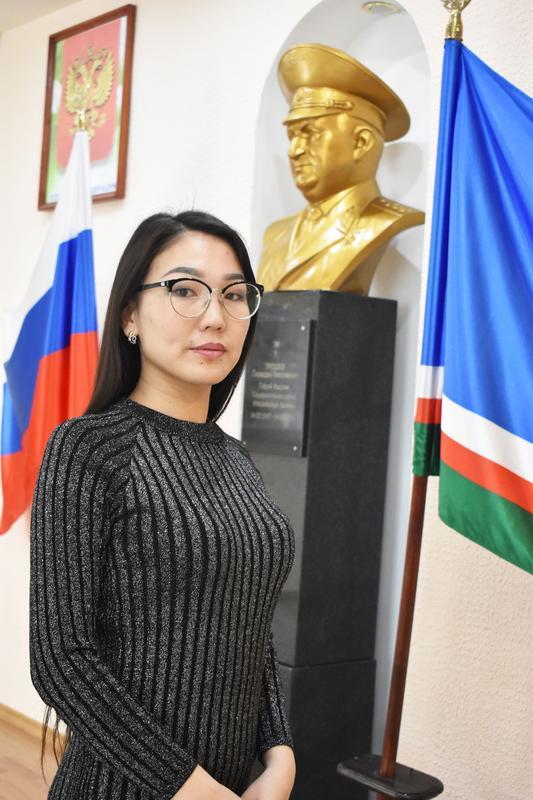 Очирова Дэжит Ярославовна  Заместитель начальника по учебной работе
